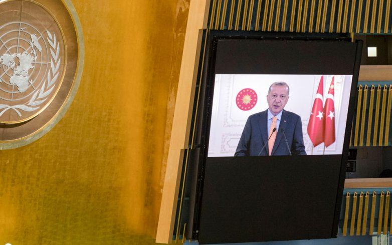 Τηλεφωνική επικοινωνία με Στόλτενμπεργκ και φον ντερ Λάιεν θα έχει σήμερα ο Ερντογάν