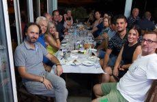 Συνάντηση – δείπνο ενημέρωσης Διοικούσας Επιτροπής του τμήματος κολύμβησης της Νίκης Βόλου