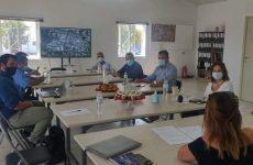 Μεβουλευτές Μαγνησίας συναντήθηκε η διοίκηση του φορέα της Α' ΒΙΠΕ Βόλου