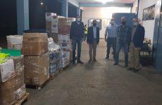 Τρόφιμα και είδη πρώτης ανάγκης στους πλημμυροπαθείς των Δήμων της Καρδίτσας