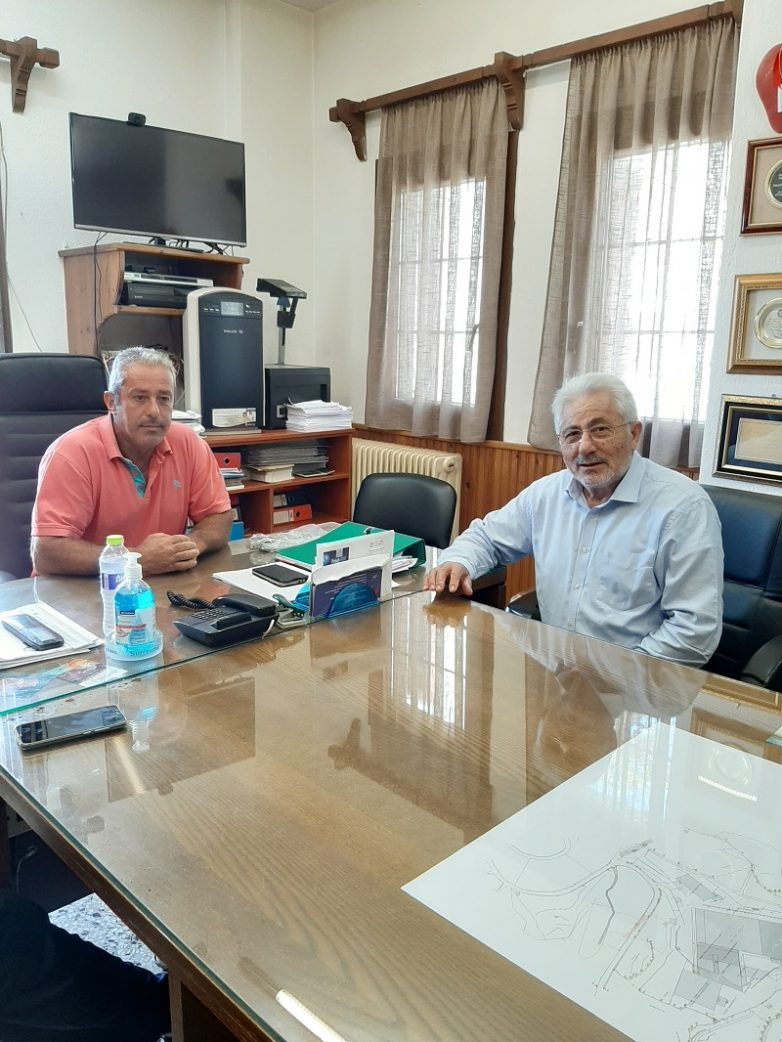 Στον Αγροτικό Συνεταιρισμό Ζαγοράς ο συντονιστής Αποκεντρωμένης Διοίκησης Θεσσαλίας – Στερεάς Ελλάδας Νικ. Ντίτορας