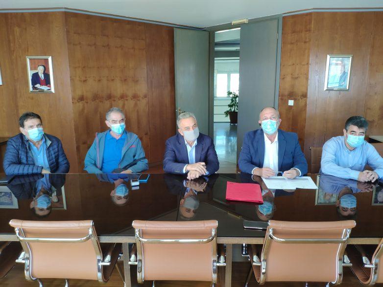 Υπογράφηκε  η σύμβαση εκτέλεσης του έργου για την ανέγερση κτιριακών εγκαταστάσεων του Τμήματος Πολιτικών Μηχανικών του Π.Θ.