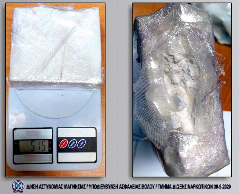 Σύλληψη δύο ατόμων με ποσότητες κοκαΐνης και ηρωίνης