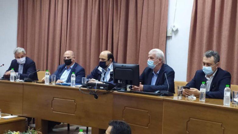 Περιοδεία Χρ. Τριαντόπουλου στη Θεσσαλία για την υλοποίηση των μέτρων στήριξης των πλημμυροπαθών