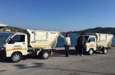 Δύο νέα σύγχρονα απορριμματοφόρα στην υπηρεσία καθαριότητας του Δήμου Σκιάθου