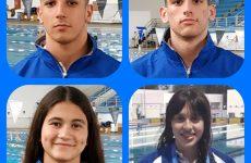 Τέσσερις αθλητές κολύμβησης της Νίκης Βόλου στις προεθνικές ομάδες