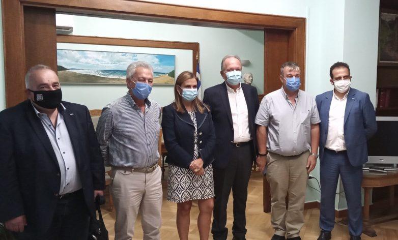 Συνάντηση Πανελλήνιου Δικτύου Κέντρων Πρόληψης με την υφυπουργό Υγείας Ζωή Ράπτη