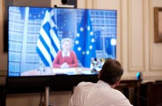 Κοινή δήλωση Μητσοτάκη – Φον ντερ Λάιεν: Να μειώσει τις εντάσεις η Τουρκία