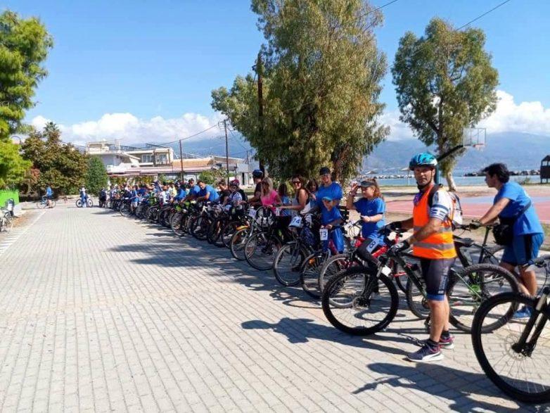 """Με επιτυχία η ποδηλατοδρομία της Νίκης Βόλου για τη """"ΦΛΟΓΑ"""""""