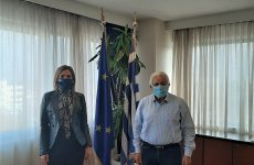 Στον συντονιστή Αποκεντρωμένης Διοίκησης Θεσσαλίας-Στερεάς Ελλάδας η βουλευτής Λάρισας της ΝΔ Στέλλα Μπίζιου