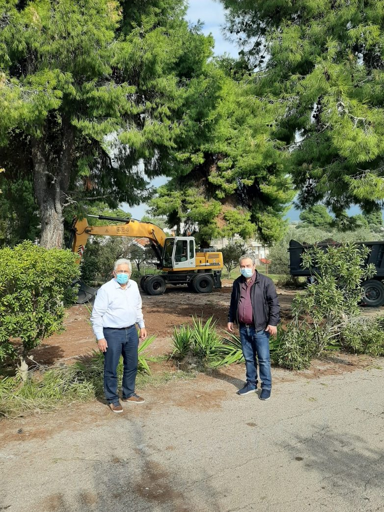 Κατεδαφίσεις αυθαίρετων κατασκευών στην Αποκεντρωμένη Διοίκηση Θεσσαλίας – Στερεάς Ελλάδας.