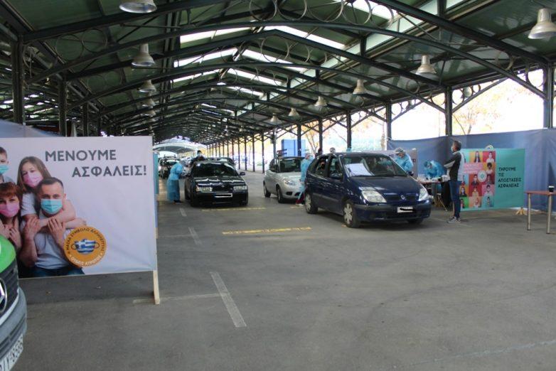 Μαζικοί δειγματοληπτικοί έλεγχοι ανίχνευσης κορωναϊού στηνΠεριφέρεια Θεσσαλίας
