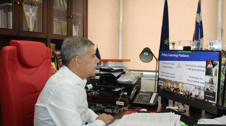 Ο περιφερειάρχης Θεσσαλίας Κ. Αγοραστός στο πανευρωπαϊκό συνέδριο InnoGrow
