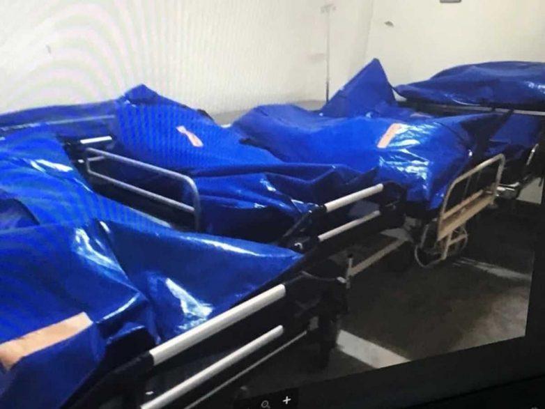 Σοροί θανόντων σε ράντσα στο Νοσοκομείο Βόλου
