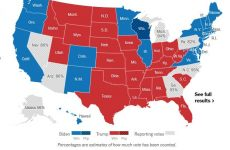 Τρεις πολιτείες ανοίγουν το μονοπάτι για επικράτηση Μπάιντεν
