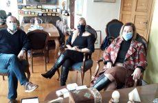 Συνάντηση ΟΕΒΕΜ με αντιπεριφερειάρχη ΠΕΜΣ Δωροθέα Κολυνδρίνη