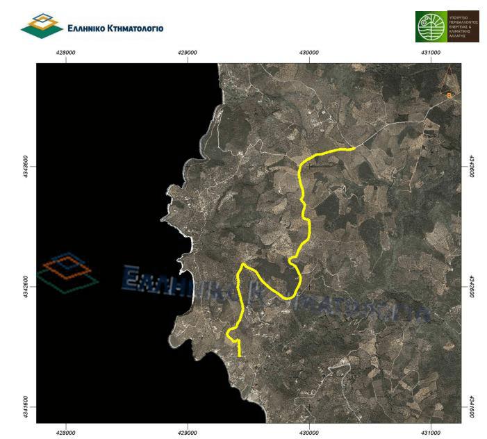Ασφαλτόστρωση του δρόμου σύνδεσης Λεφοκάστρου με Κάλαμο