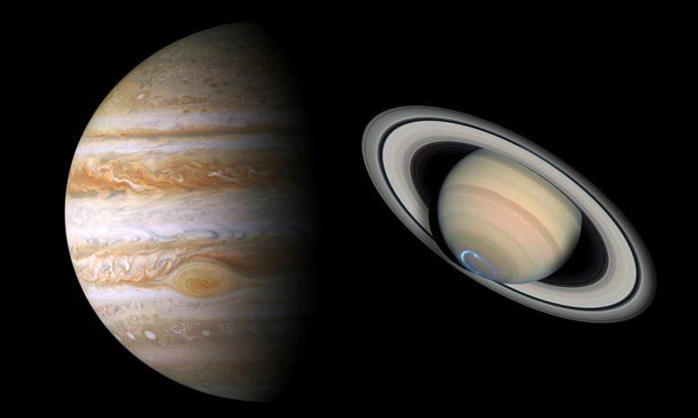 Η σύνοδος των πλανητών Δία και Κρόνου και πώς συνδυάζεται με το άστρο των Χριστουγέννων