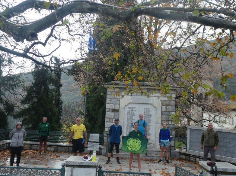 Στην μνήμη των θυμάτων από τους ναζί έτρεξαν οι δρομείς του ΣΔΥ Βόλου από την Αγριά στην Δράκεια
