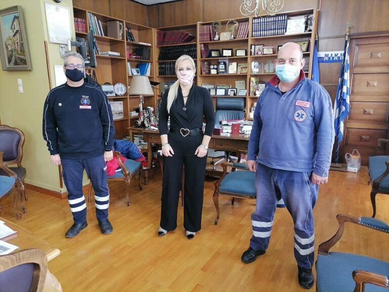 Ενισχύεται το ΕΚΑΒ στη Θεσσαλία