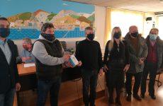 Ψηφιακά θερμόμετρα στην Ένωση Ποδοσφαιρικών Σωματείων Θεσσαλίας