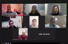 Διαδικτυακή κοπή πίττας και συνεδρίαση της ΟΕΒΕΜ