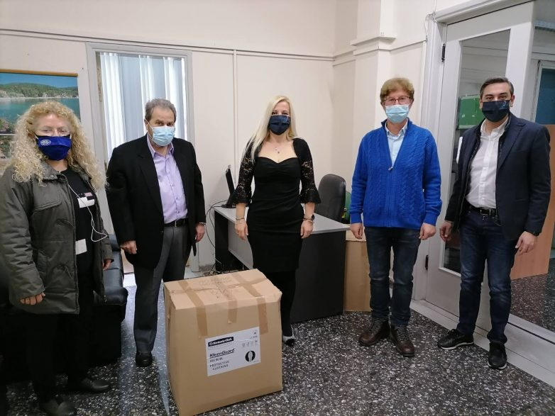 Yγειονομικό υλικό έδωσε η ΕΚΠΟΛ σε υπηρεσίες και φορείς της υγείας