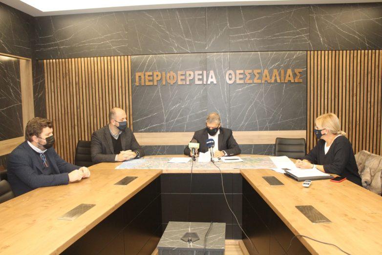 Υπογράφηκε η σύμβαση της μελέτης για τη βελτίωση  της παλαιάς Εθνικής Οδού Λάρισας – Βόλου
