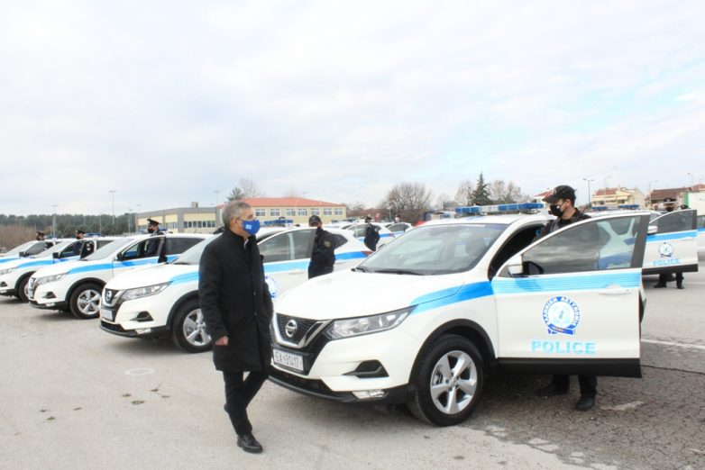 Παραδόθηκαν 68 νέα αυτοκίνητα για ενίσχυση του στόλου αστυνομικών υπηρεσιών ΓΕΠΑΔ Θεσσαλίας
