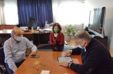 Συνάντηση εργασίας δημάρχου Ν. Πηλίου- συντονιστή Αποκεντρωμένης Διοίκησης Θεσσαλίας-Στ. Ελλάδας
