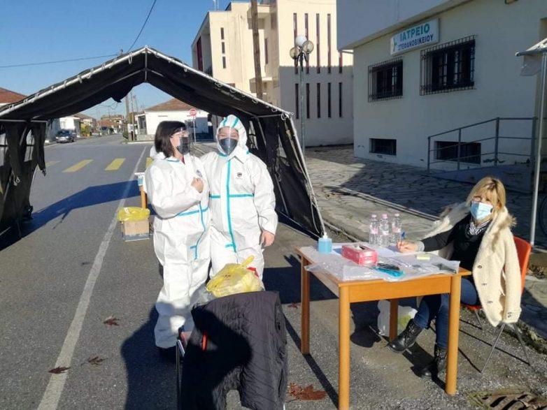 Δωρεάν RAPID TESTS σε Τοπικά Διαμερίσματα του Δήμου Ρήγα Φεραίου