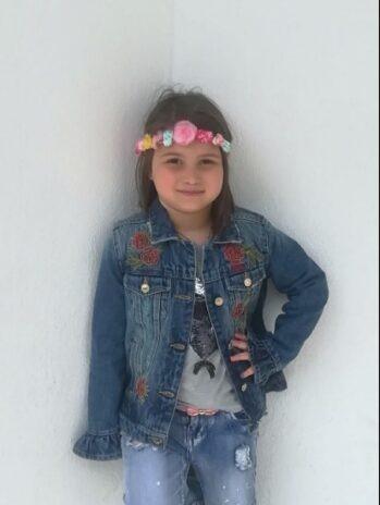 Στους ουρανούς η 9χρονη Θωμαή από το Βελεστίνο