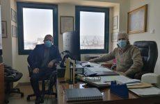 Ο Αλ. Μεϊκόπουλος στο Σώμα Επιθεώρησης Εργασίας Βόλου