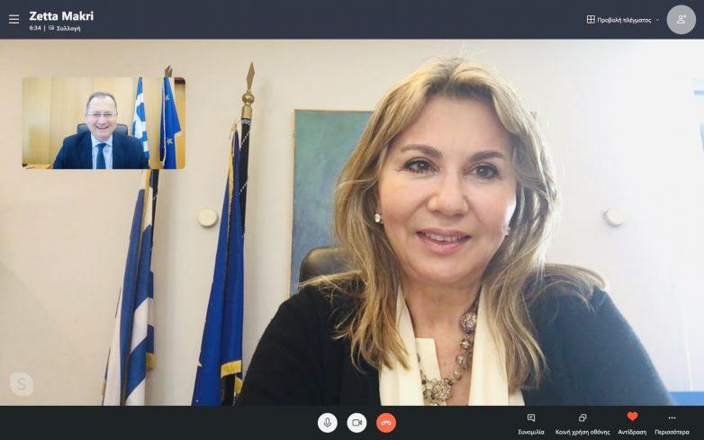 Z. Μακρή:  Διόρθωση Κτηματολογίου στην Αλόννησο