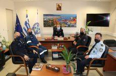 Εθιμοτυπική επίσκεψη στο γραφείο του διευθυντή της Δ.Α. Μαγνησίας