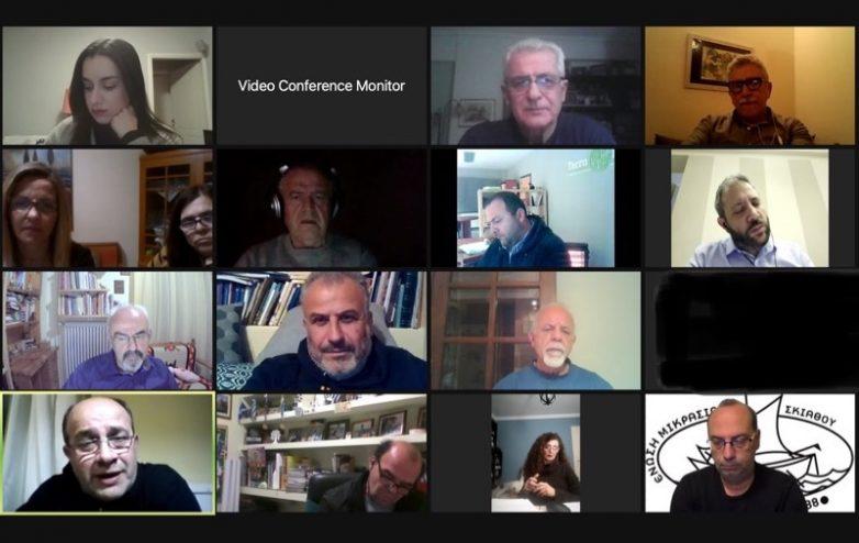 Τηλεδιάσκεψη Μεϊκόπουλου με Πολιτιστικούς Συλλόγους της Μαγνησίας