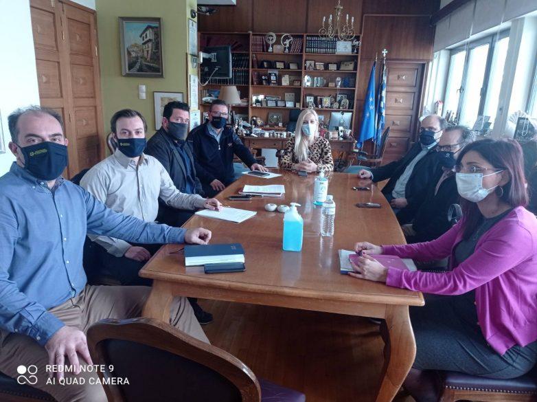 Σύσκεψη στην ΠΕΜΣ για τις αποζημιώσεις από τις καταστροφές του Ιανού