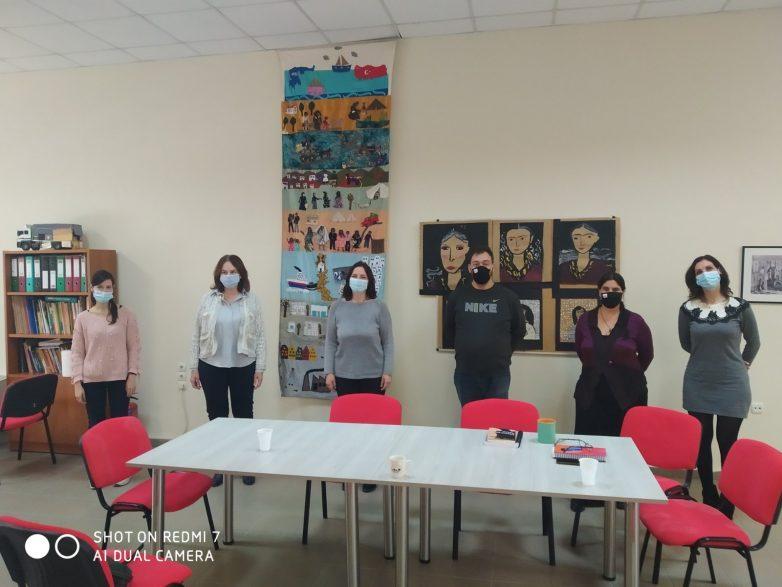 Επίσκεψη Κατερίνας Παπανάτσιου στο Παράρτημα Ρομά του Κέντρου Κοινότητας Αλιβερίου Δήμου Βόλου