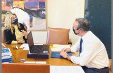 Χρ. Σταϊκούρας σε Ζ. Μακρή: Νέα Ενίσχυση της βρώσιμης ελιάς λόγω κορωναϊού