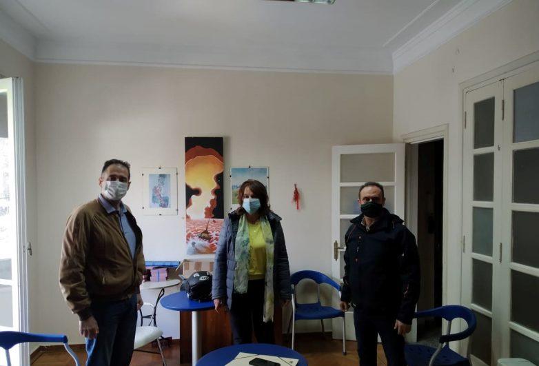 Συνάντηση Κ. Παπανάτσιου με τον Σύλλογο Φυσικοθεραπευτών Μαγνησίας