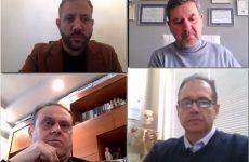 Τηλεδιάσκεψη Μεϊκόπουλου με τον Σύλλογο Φυσικοθεραπευτών Μαγνησίας