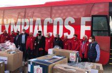 Είκοσι οικίσκους προσέφερε ο Ολυμπιακός και ο Βαγγέλης Μαρινάκης στους σεισμόπληκτους