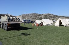 Σκηνές για τους σεισμόπληκτους της Θεσσαλίας