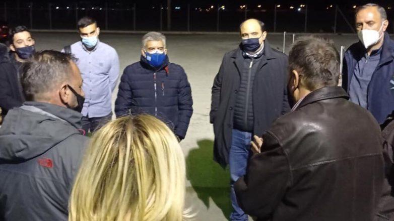 Χρ. Τριαντόπουλος: Στις σεισμόπληκτες επιχειρήσεις του Τυρνάβου