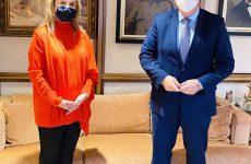 Άμεση επικοινωνία Ζ. Μακρή με Κ. Τσιάρα για το Ειρηνοδικείο Αλμυρού