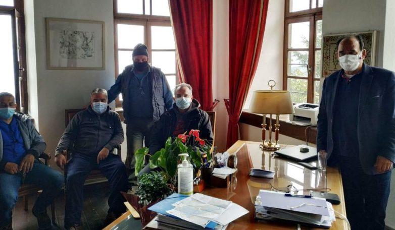 Αυτοψία ΕΛΓΑ σε ζημιές που προκάλεσε η Μήδεια  σε καλλιέργειες του Δήμου Ζαγοράς  -Μουρεσίου
