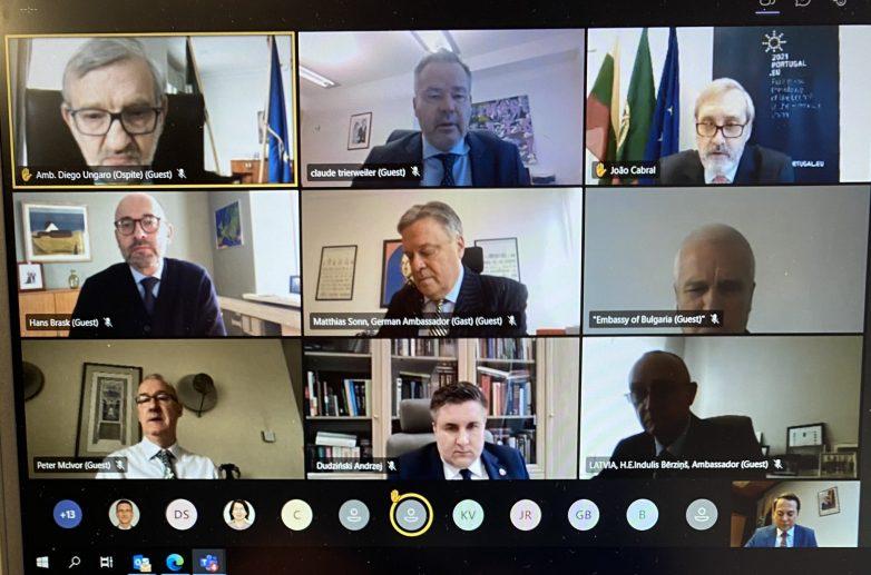 Με τηλεδιάσκεψη το Ευρωπαϊκό Συμβούλιο στις 25-26 Μαρτίου