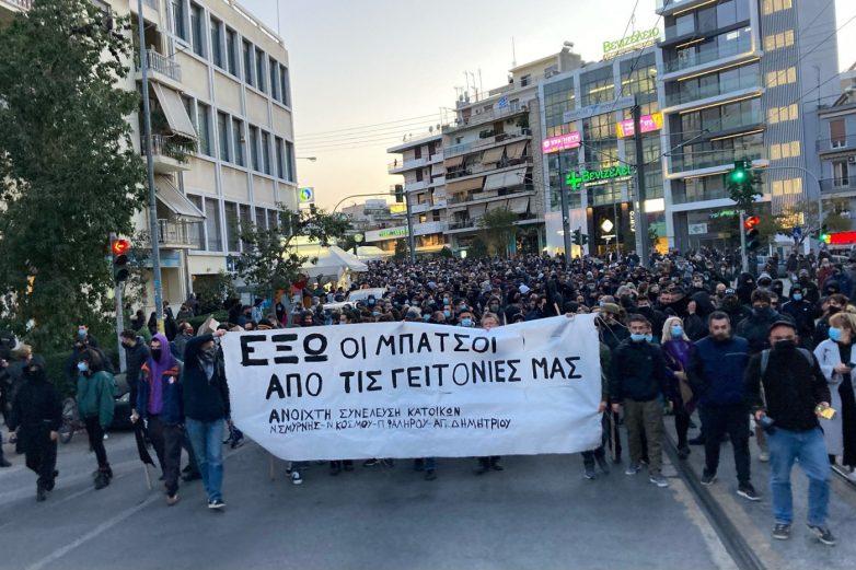 Σύγκρουση για τις διαδηλώσεις παρά το lockdown