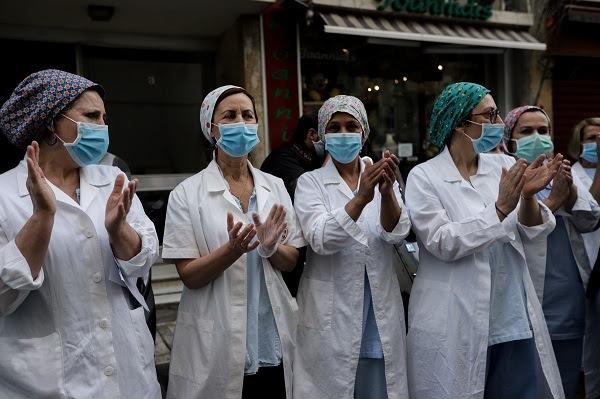 ΠΡΑΣΙΝΟ ΚΙΝΗΜΑ: Αφιερωμένη σε όλες τις γυναίκες και ιδιαίτερα στις ηρωίδες με τις λευκές ποδιές