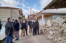 Κλιμάκιο προέδρων ΣΠΜΕ,ΤΕΕ ΚΔ Θεσσαλίας, Μαγνησίας και Στερεάς Ελλάδας στις σεισμόπληκτες περιοχές